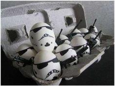 Stormtrooper Easter eggs