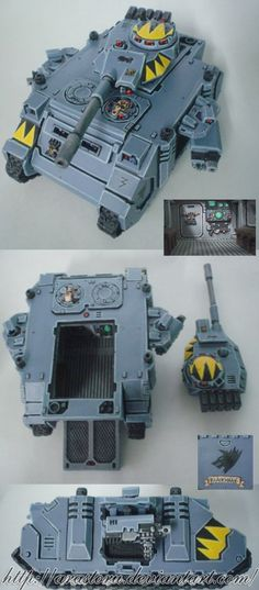 Space Wolves Predator Tank2 by Arastoru.deviantart.com on @deviantART