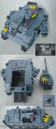 Space Wolves Predator Tank2 by Arastoru.deviantart.com on @deviantART