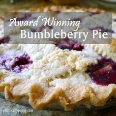 Just in time for the holiday weekend! Enjoy this sweet and tart pie with rhubarb, apple, and berries - yum!