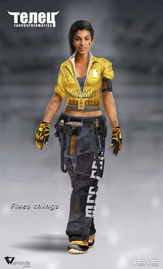 Mechanic-concept by Long-Pham.deviantart.com on @deviantART