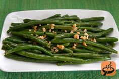 String Beans with Garlic recipe