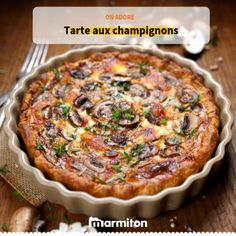 Keto mushroom pie is a natural sequence to our ketonisation of Greek pites (pies). With homemade crispy keto phyllo dough, you can easily ketonise it all! Mushroom Pie, Keto Mushrooms, Stuffed Mushrooms, Quiches, Greek Cake, Tapas, Caramelized Shallots, Baked Pie Crust, Phyllo Dough