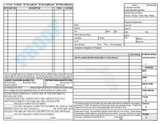 Invoice Auto Repair Form 138 by BudgetCollections on Etsy
