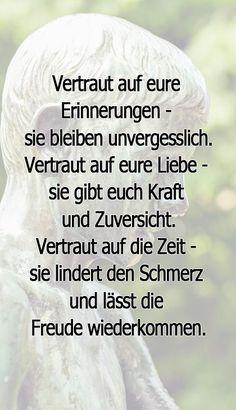 Trauerspruch für Traueranzeigen #Trauer #Trauerverse #Kondolenz #Trauersprüche