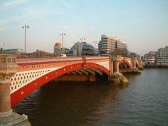 Blackfriars Bridge, London, England,