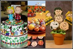 A Mom Not a Professional Nor a Perfectionist: Charlie Brown and The Great Pumpkin Patch Party