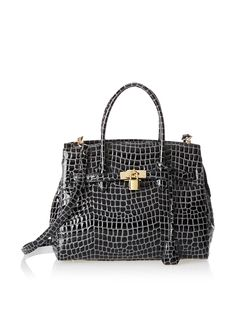 Zenith Women's Classic Satchel, Black at MYHABIT