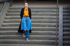 The Top Street Style Pics From Kiev Fashion Week #StreetStyle   #FashionWeek  #Kiev