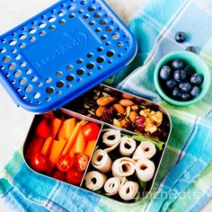 School lunch or work snack, just fill and go! #paleo #lunchbots #stainlesssteel