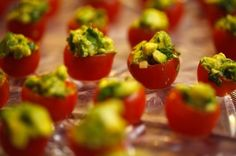 Avocado Stuffed Tomatoes