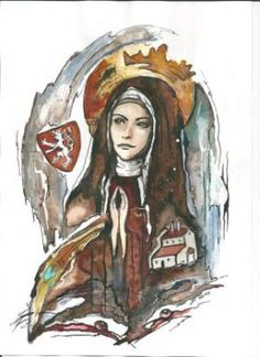 Saint of the Day – 2 March – St Agnes of Prague/Bohemia (1211-1282) Princess, Nun, Foundress, Abbess, Missionary of Charity and Mercy – Patron of the Czech Republic and Prague...