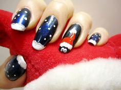 ZigiZtyle: Snowy Christmas Nails