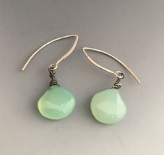 Chalcedony and sterling