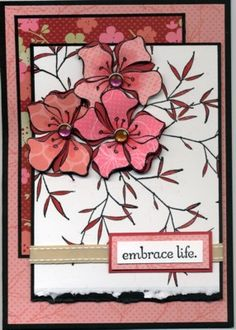 Blossoms Embrace by mlnapier - Cards and Paper Crafts at Splitcoaststampers