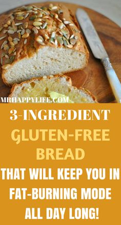 Most people who are recommended to give up gluten are put off this idea, believing that they are not able to give up bread at any cost.