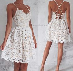 omg i need this dress #whitedress #tanskin