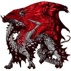 BloodDrop Flight Rising, How To Train Dragon, Dragons, Magic, Kites