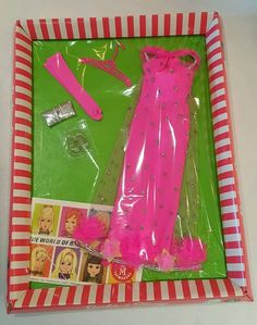 Vintage Barbie/Stacey #1844-325 Extravaganza NEVER OPENED IN BOX NEW!!!!! #Mattel #Clothing