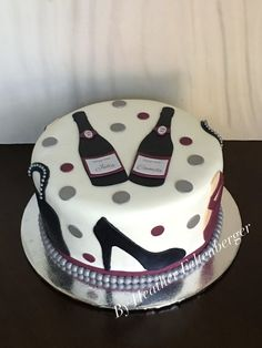 Marvelous Picture of Birthday Cakes For Women . Birthday Cakes For Women Wine Fashion High Heels Purses Ballet Slipppers Adult Woman Birthday Cake Wine, 19th Birthday Cakes, Adult Birthday Cakes, Cool Birthday Cakes, Bithday Cake, Birthday Table, Birthday Cake Ideas For Adults Women, 40th Birthday Cake For Women, 50th Birthday