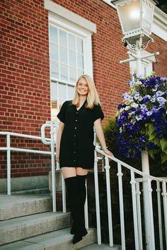 Summer - Rachel Davis Photography Senior Girl Photography, Senior Girl Poses, Senior Girls, Senior Portraits, Sexy Teens, Senior Pictures, Beautiful Dresses, Leather Skirt, Shirt Dress