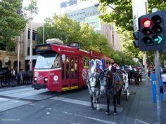 Downtown Melbourne Australia