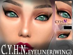 The Sims Resource: Eyeliner by Chung Yan Hei • Sims 4 Downloads