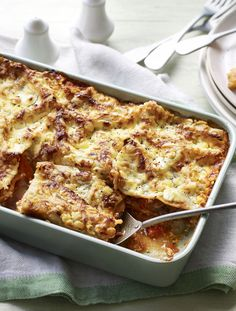 A cheap and cheerful light veggie lasagne that's packed with veg and lower fat cottage cheese. Just don't tell them it's good for them!