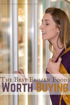 Best Frozen Foods Worth Buying - People are falling in love with frozen food and I have the best frozen foods worth buying that will save you money year round.