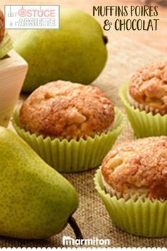 Retrouvez toutes les astuces de Marmiton pour réussir à coup sûr votre recette de muffins aux pépites de chocolat et aux poires - vu sur TF1, dans « De l'astuce à l'assiette » #recettemarmiton #marmiton #recette #recettefacile #recetterapide #faitmaison #cuisine #ideesrecettes #inspiration #astuceassiette #astucescuisine #astuces #conseils #tf1 #muffins #poires Muffins, Scones, Hot Chocolate, Diet Recipes, Cupcakes, Simple Pleasures, Biscuits, Sweet Tooth, Bakery
