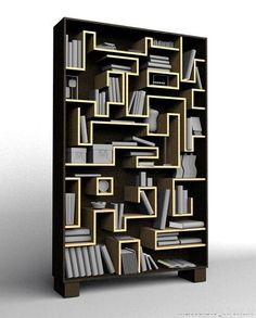 book worm bookshelf by Cyrill Drummerson