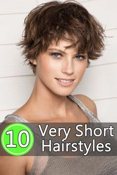 Short Hairstyles: Those with very short hair can also opt for a range of interesting and fun hairstyles.
