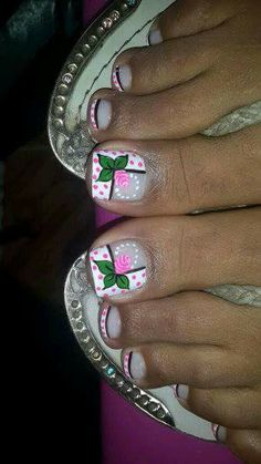 nail art for toe nails Pedicure Designs, Pedicure Nail Art, Toe Nail Designs, Toe Nail Art, Toe Nails, Pedicure Tools, Diva Nails, Nails Only, Pretty Nail Designs