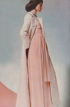 maxi chic // Photo by Barry Lategan for Vogue UK, 1970. #vintage