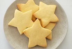 3-ingredient shortbread