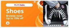 11 11 Sale, Special Promotion, Shoe Sale