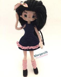 Amigurumi doll by Margareth the doll maker.