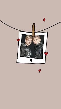 M Wallpaper, Twin Brothers, Jennie Blackpink, Art Logo, True Love, Drawings, Backgrounds, Fandoms, Stars
