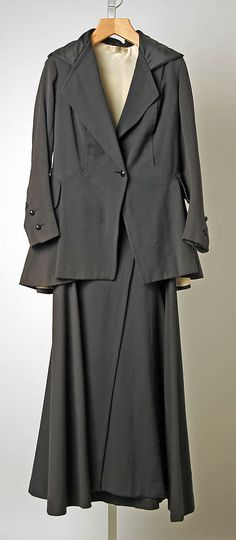 SuitCallot Soeurs  (French, active 1895–1937) Date: 1915–17 Culture: French Medium: wool