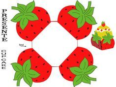 strawberry shaped box