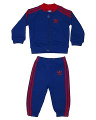 ADIDAS ORIGINALS TOTS BOYS SUPERSTAR TRACK SUIT - COLLEGIATE RED
