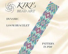 Bead loom pattern  Maze LOOM bracelet pattern in PDF
