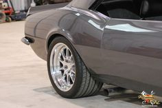 Fikse wheels on this 1967 Chevy Camaro SS. Story behind the car at http://www.gearheads4life.com/features/upgraydd/