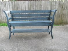 This bench was nearly a project fail! Check out her curves, isn't she a beaut?