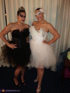 Black Swan vs. White Swan - Homemade costumes for women