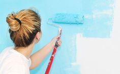 Confira o passo-a-passo de como pintar as paredes você mesma.