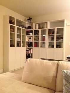 Pinning Because This Is What I Dont Want It To Look Like But Good Chances Would Haha Billy Bookcase Ikea Bookshelves