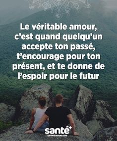 True love is when someone accepts your past,encourages it for your present, and gives you hope for your future. French quotes mean a lot to me. Quotes Español, Best Quotes, Love Quotes, French Words, French Quotes, Positive Attitude, Positive Quotes, Adonai Elohim, Think
