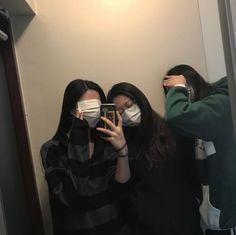 Something special ♡ korean styles ulzzang Mode Ulzzang, Ulzzang Korean Girl, Ulzzang Couple, Super Nana, Korean Best Friends, Best Friends Aesthetic, Korean Girl Photo, Girl Friendship, Friend Poses