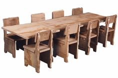 The perfect kids Thanksgiving table. by Piet Hein Eek.